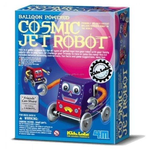 Cosmic Jet Robot Kidz Labs 4M Science Kit-Balloon Powered 2006 Toysmith