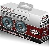 Mac Audio Kit haut-parleurs de portière avant avec supports pour Volkswagen Polo 200 W