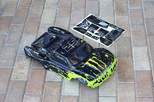 Muddy Monster Body for 1/10 Traxxas Slash RC Car Truck