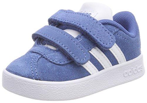 adidas Unisex Baby VL Court 2.0 CMF Sneaker Blau (Trace Royal/Footwear White/Grey Two)