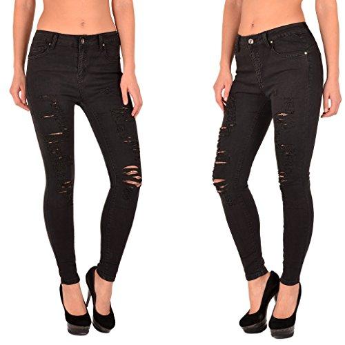 48 Jean by J283 Grande Haute High tex Taille Pantalon 52 Taille Femmes Jeans Skinny S200 50 Waist Femme OB5wxrBqR