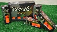 Volvik 4 Dozen Vivid Matte Orange Golf Balls - New in Box