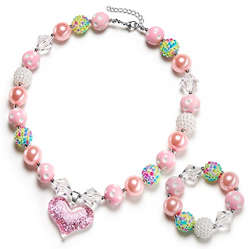vcmart Bubblegum Necklace Bracelet Valentines product image