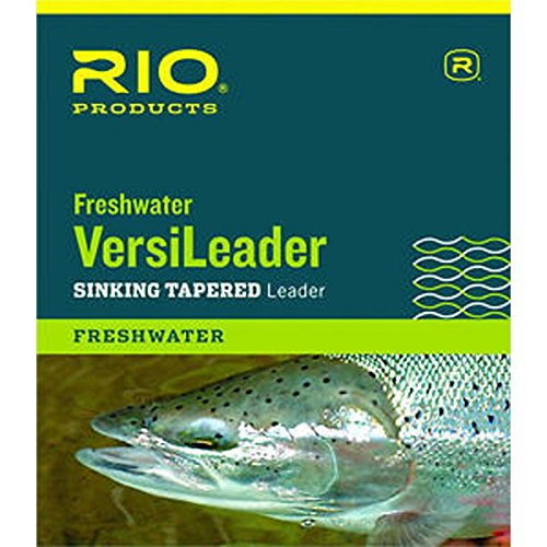 Rio Freshwater Versileader, Brown/Green Loop, 10ft 3ips For Sale