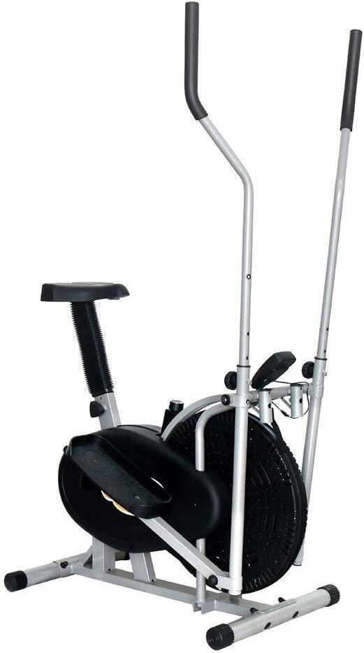 NO BRAND Bicicleta elíptica máquina elíptica Entrenador Compacto ...