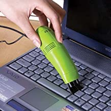 Mini Vacuum Cleaner for Laptop with USB Connection Keyboard Vacuum Sweeper Color Random