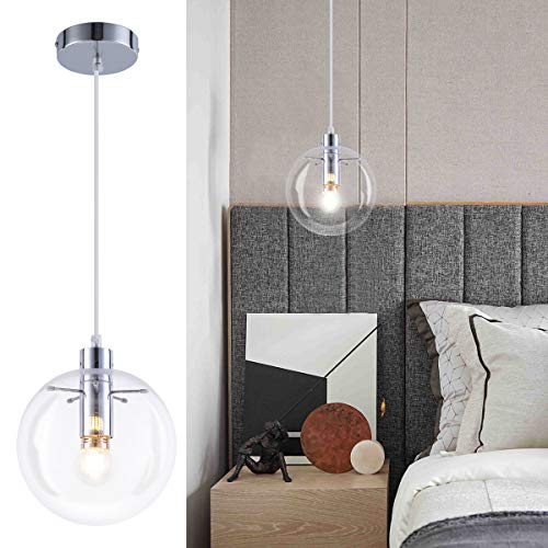 Contemporary Glass Pendant Lighting in US - 3