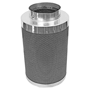 Phresh 701005 Carbon Air Filter, 6 by 16-Inch, 400 CFM