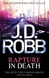 Front cover for the book Rapture in Death by J.D. Robb