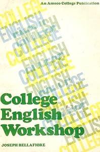 Paperback College English Workshop Book