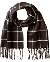 Fraas Men's Window Pane Plaid Scarf