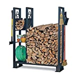 Pilgrim Home and Hearth 18565 Utility Outdoor Wood Rack