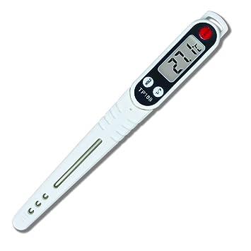 Termómetro digital de cocina con sonda larga e instantánea, termómetro inalámbrico para cocina, para
