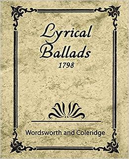 Lyrical Ballads Wikipedia