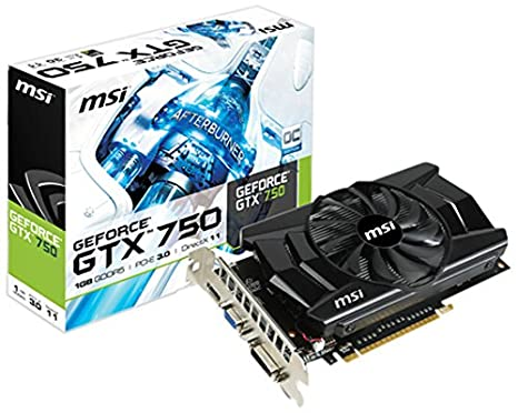 Amazon.com: MSI N750 – 1 GD5/OC GeForce GTX 750 Tarjeta ...