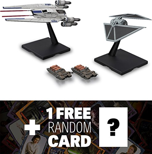 U-Wing Fighter & TIE Striker : 1/144 Bandai Star Wars Plasti