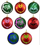 grinch 8 pack ornament