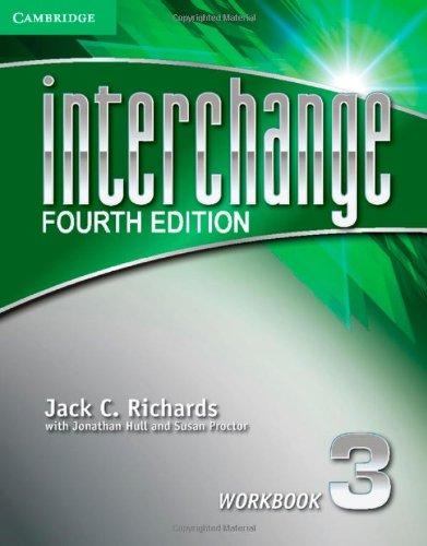 Interchange Level 3 Workbook (Interchange Fourth Edition)