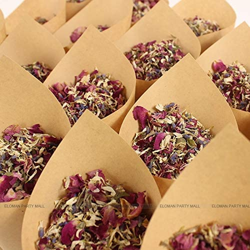 1 Litre Dried Deep Red and Pink Rose Petals and Yellow Calendula Wedding Confetti Home Fragrance 100/% Biodegradable Confetti