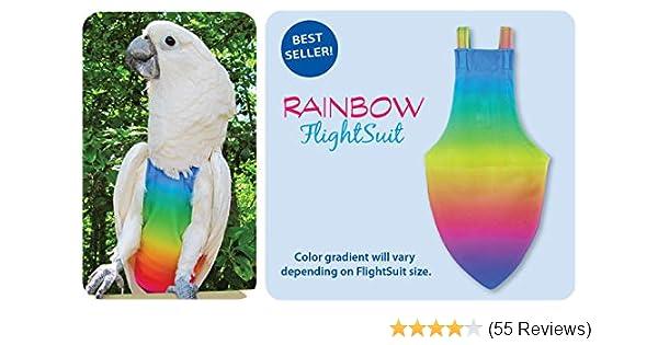 Amazon com: Avian Jr  Small FlightSuit (Bird Diaper) w