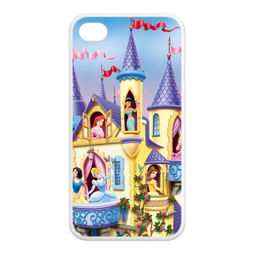 Fayruz- Disney Princess Protective Hard TPU Rubber Cover Case for iPhone 4 / 4S Phone Cases A-i4K34