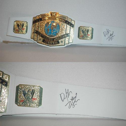 Mattel Dolph Ziggler Signed WWE Belt