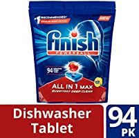 Amazon.com: Acabado todo en uno max pastillas de lavaplatos ...