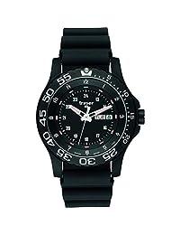 traser H3 P 6600 Elite Red Sapphire Watch | Rubber Strap - Black