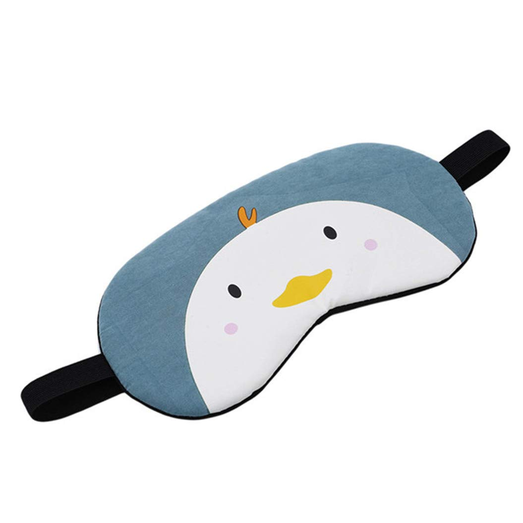 LZIYAN Cartoon Sleep Eye Mask Cute Animal Pattern Eye Mask Blindfold Eye Patch Sleeping Eyeshade Travel Shade Cover,Chick by LZIYAN (Image #2)