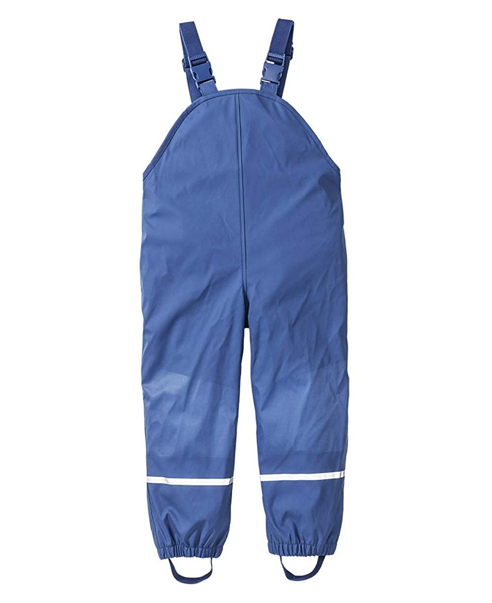 DAYU Unisex Kids' Fleece Lined Rain Pants Bibs Waterproof Overalls Age 2-7 Years DAYU INC.