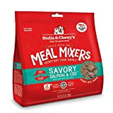 Stella & Chewy's Freeze-Dried Raw Savory Salmon & Cod Meal Mixers Grain-Free Dog Food Topper, 18 oz bag