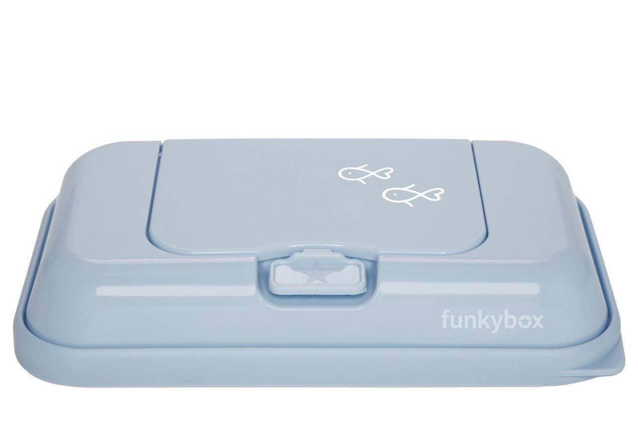 Vintage Blue - Fish Funkybox Baby Wipes Dispenser