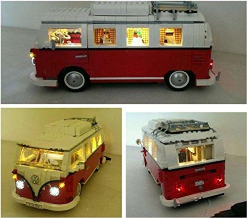 LED Light Kit for Lego 10220 Volkswagen T1 Camper bricklite usb powered -