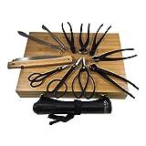 Tinyroots Ultimate Package - Carbon Steel Tool Kit + Tool Roll (TRK-08)