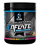 eFlow Nutrition ENFLATE Stimulant Free Pump Focus preworkout (Rainbow Sherbet)