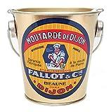 Edmond Fallot Dijon Mustard Tin Pail - 15.8 oz (12 Pack)