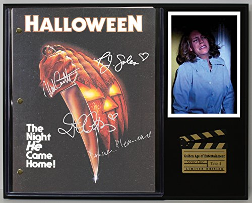 "Halloween""The Night He Came Home"" Limited Edition Reproduction Movie Script Cinema Display""C3"""
