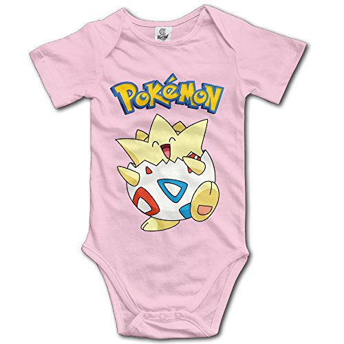 Price comparison product image Pokemon Go Togepi Unisex For Baby Bodysuit Romper