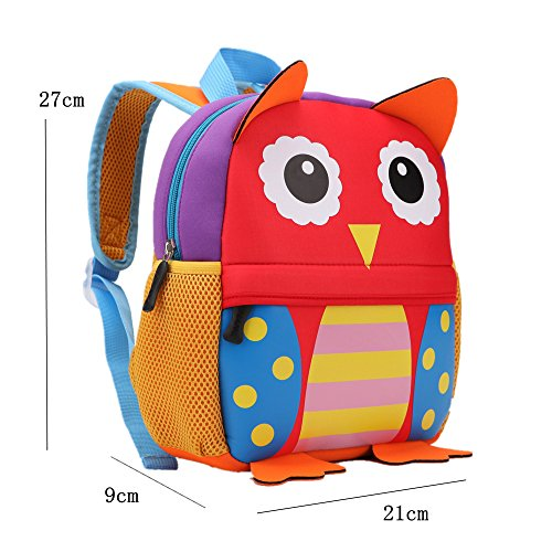 children design Children's owl old for Teamen backpack 2 animal nbsp;years 6 school O6gxY