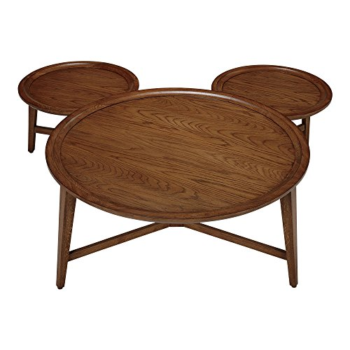 Ethan Allen | Disney  It All Started With A Mouse Coffee Table, Toffee