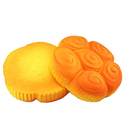 Stress Relief Toy Squish Anti-stress Jumbo Bread Squishy Toys Soft Big Slow Rising Food Anti Stress Reliever Toy For Kids Adult Relieve Pressure