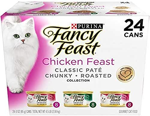Cat Food: Fancy Feast Variety Pack
