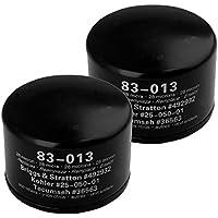 Oregon 83-013 Oil Filter Replacement (2 Pack) B&S 492932 John Deere LG492932 # 83-013-2pk