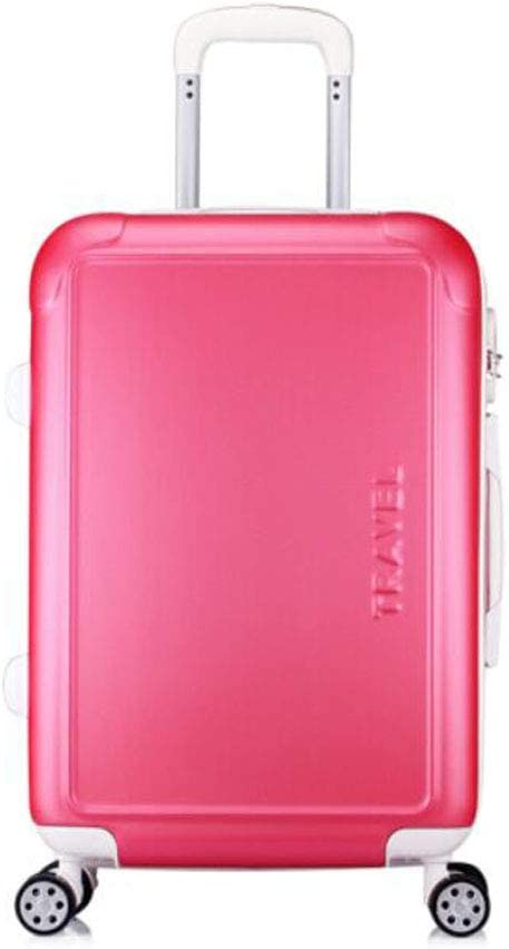 Color : Rose red, Size : 181126 inch Size Pink Color Suitcase for Durable and Stylish Lightweight Hard Shell Suitcase cm 37 27 55