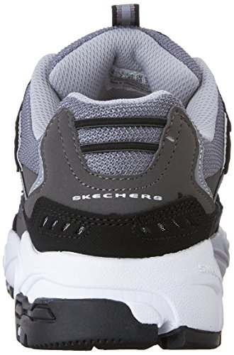 Sneaker Skechers Charcoal Black Lace Nuovo Stamina Sport Men's Cutback Up nCaCvpqwO