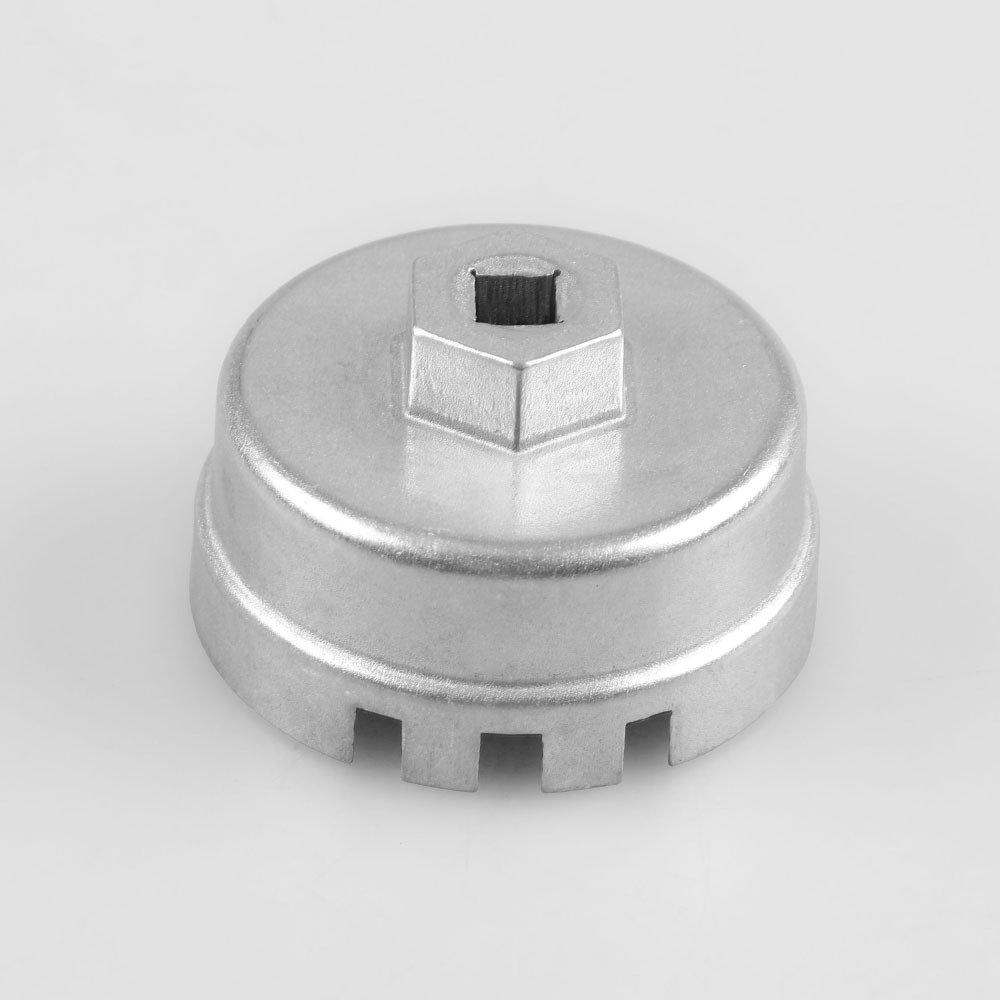LanLan Aluminiumlegierung Schraubenschlü ssel Auto Teile fü r TOYOTA Serie Ö lfilterschlü ssel Refit Zubehö r