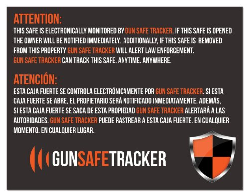 Gun Safe Tracker Warning Magnet for Gun Safe