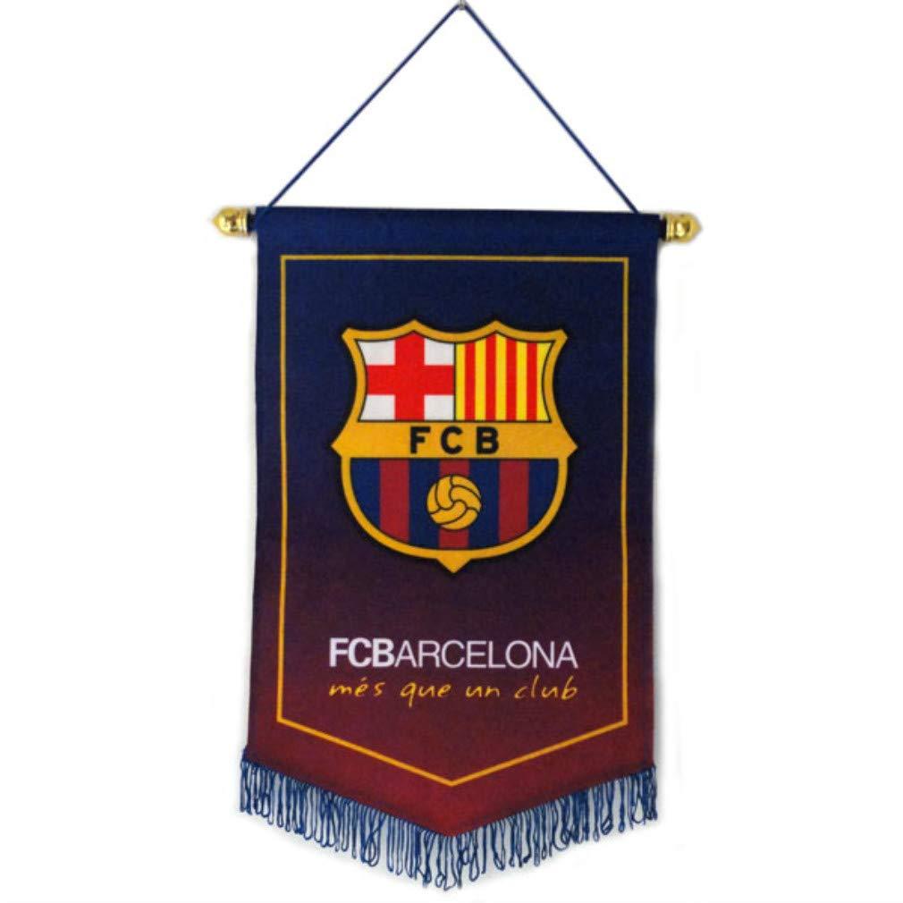 Soccer Club Pentagon Flag for Decoration Blue STER-TSP Barcelona FC Hanging Flag