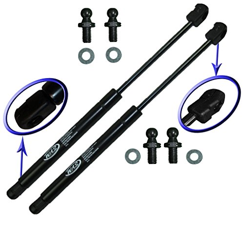 Two Rear Glass Gas Charged Lift Supports For 98-04 Isuzu Rodeo, 01-03 Isuzu Rodeo Sport, 98-02 Honda Passport, 99-00 Isuzu Amigo. Left and Right Side. WGS-199-2 00 01 02 03 Hatch