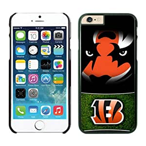 Personalized Design Phone Case For Iphone 6 Cincinnati Bengals iPhone 6 4.7 Inches Cases 23 Black TPU Protective Phone Case